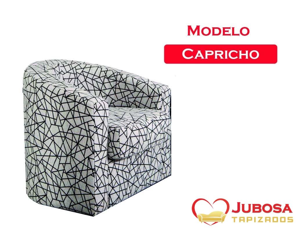 sillon modelo de capricho - tapizados jubosa