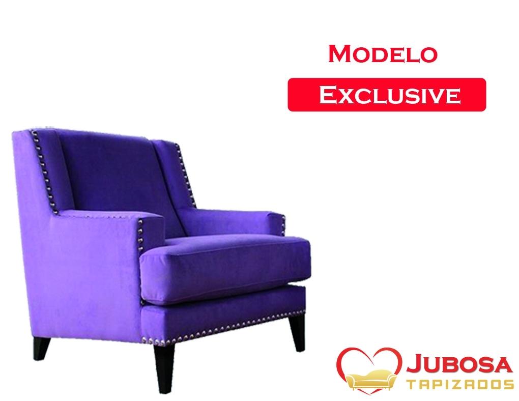 sillon modelo de exclusive - tapizados jubosa