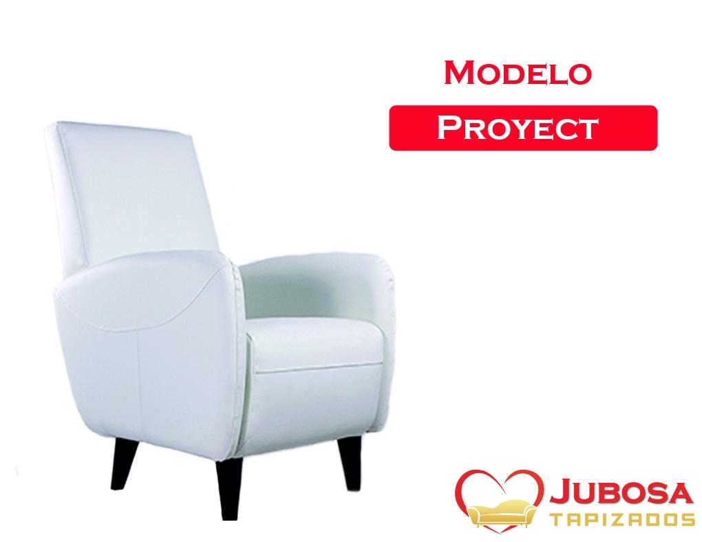 sillon modelo de proyect - tapizados jubosa