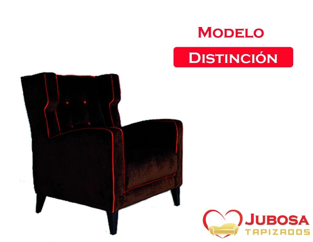 sillon modelo distincion - tapizados jubosa