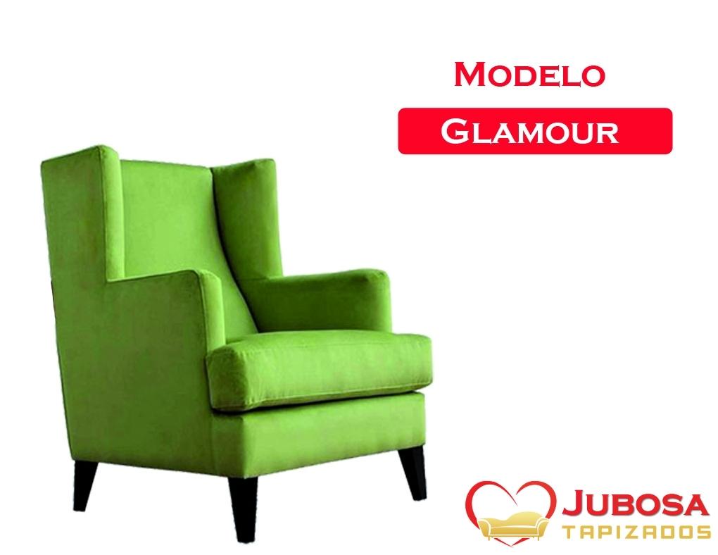 sillon modelo glamour - tapizados jubosa