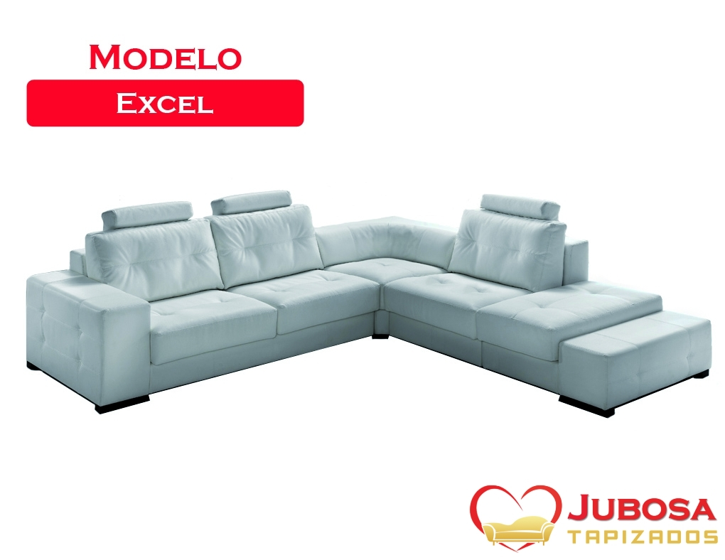 sofa modelo excel - tapizados jubosa