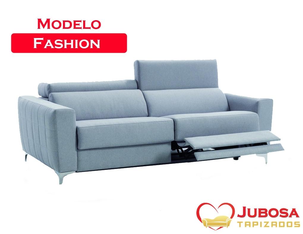 sofa modelo fashion - tapizados jubosa
