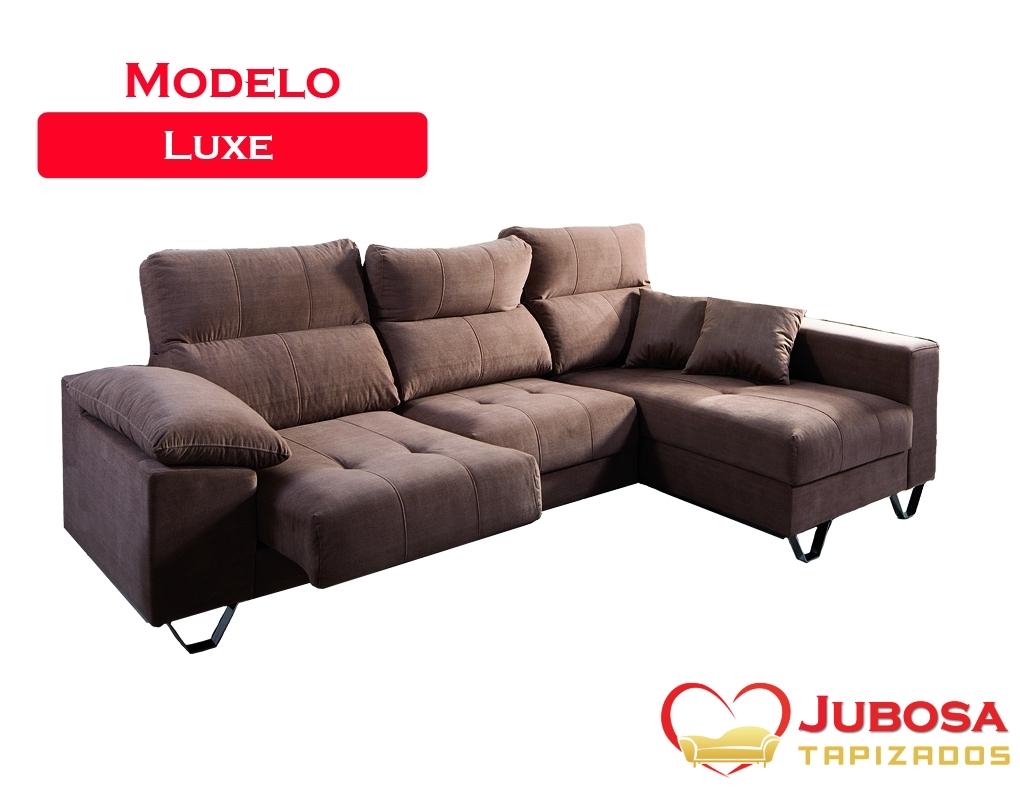 sofa modelo luxe - tapizados jubosa