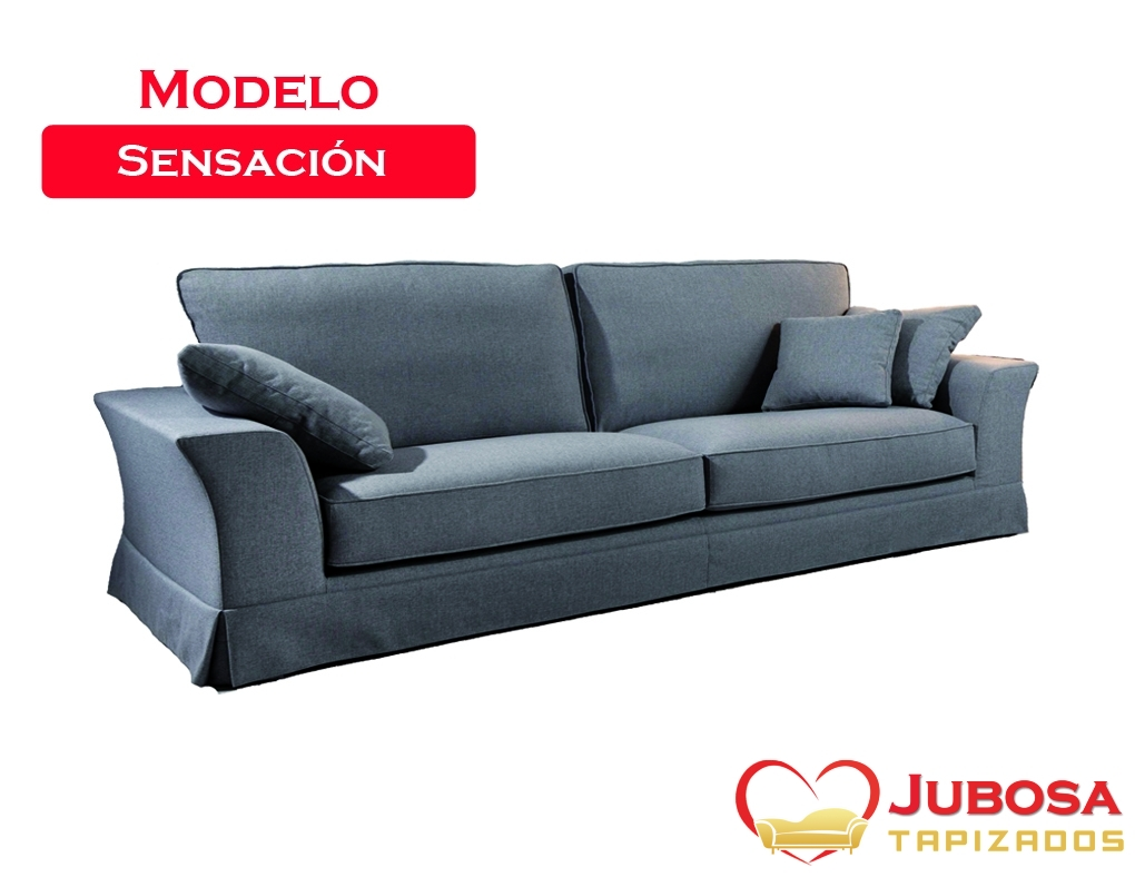 sofa modelo sensacion - tapizados jubosa