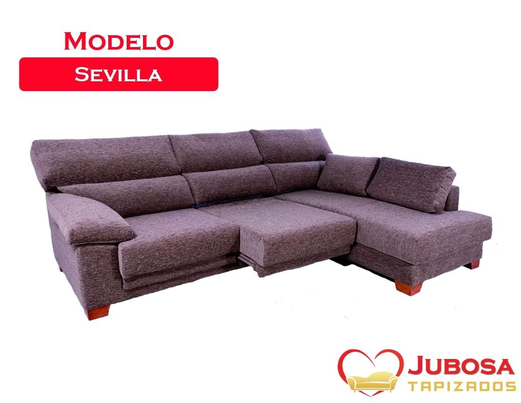 sofa modelo sevilla - Tapizados Jubosa