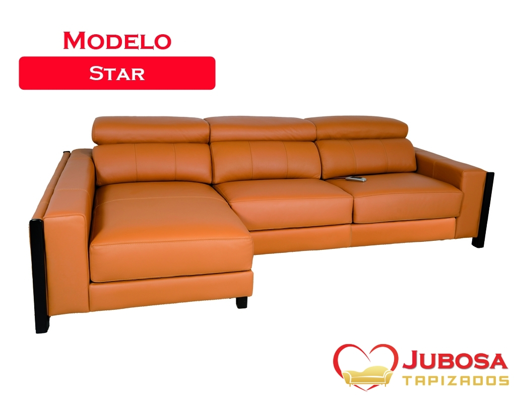 sofa modelo star - tapizados jubosa