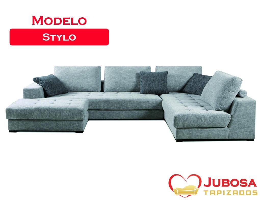 sofa modelo stylo - tapizados jubosa