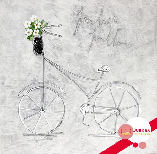 cuadro bicicleta tapizados jubosa