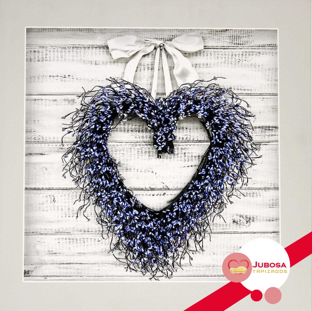 cuadro corazon tapizados jubosa