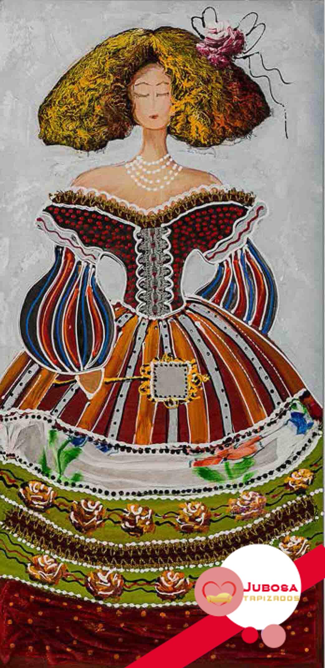 cuadro menina barita tapizados jubosa