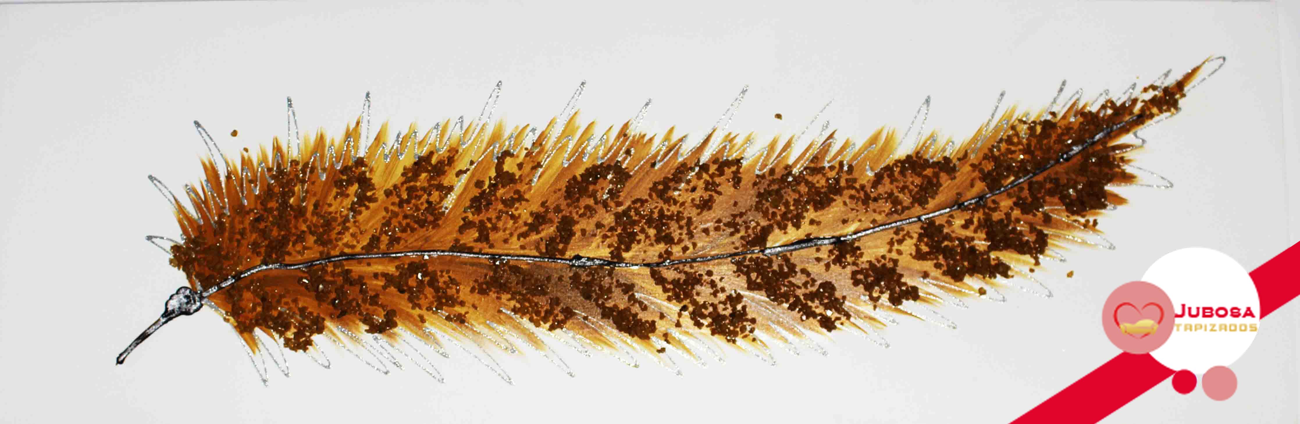 cuadro pluma tapizados jubosa