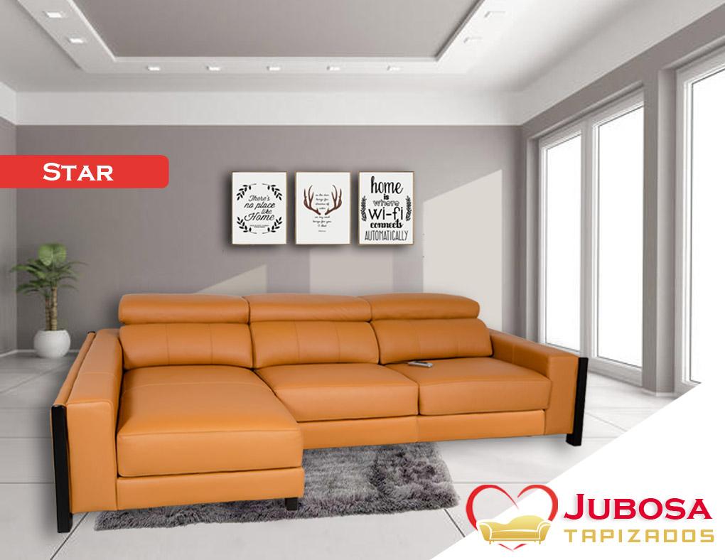 sofa con fondo star tapizados jubosa