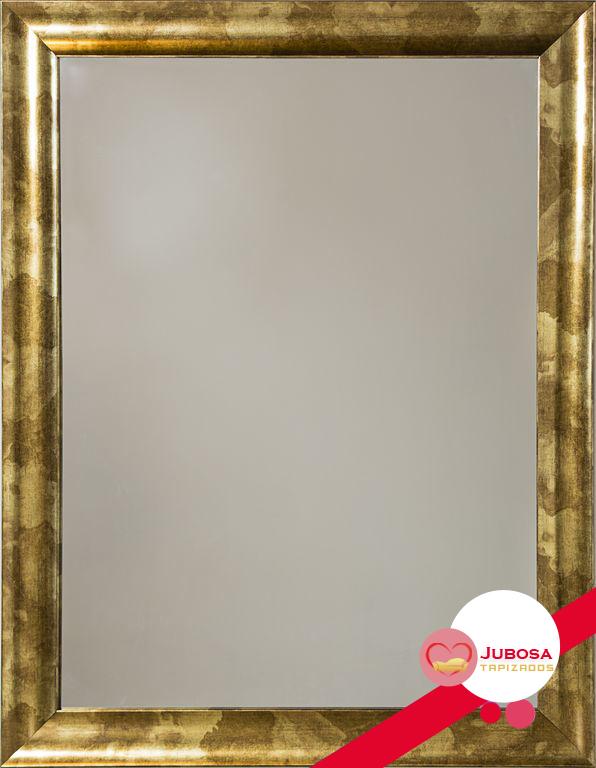 espejo brillante tapizados jubosa