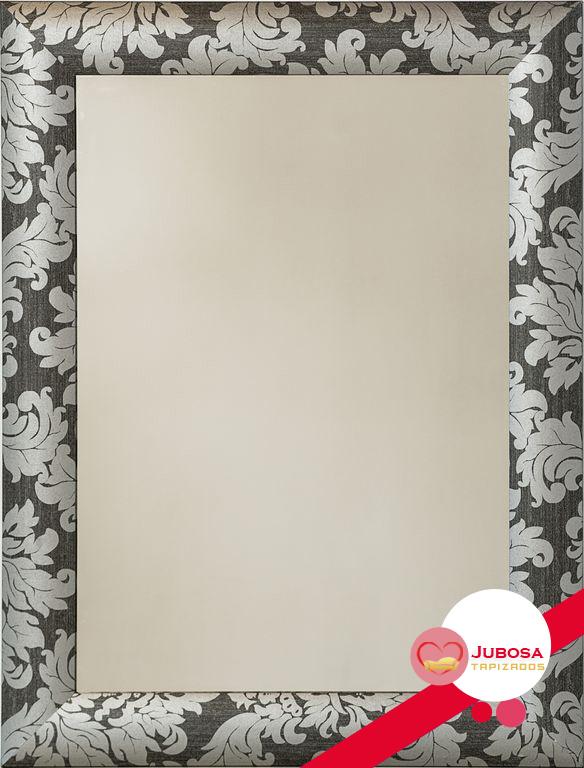 espejo floral tapizados jubosa