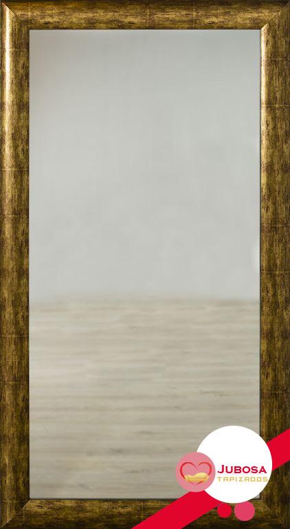 espejo gran oro tapizados jubosa