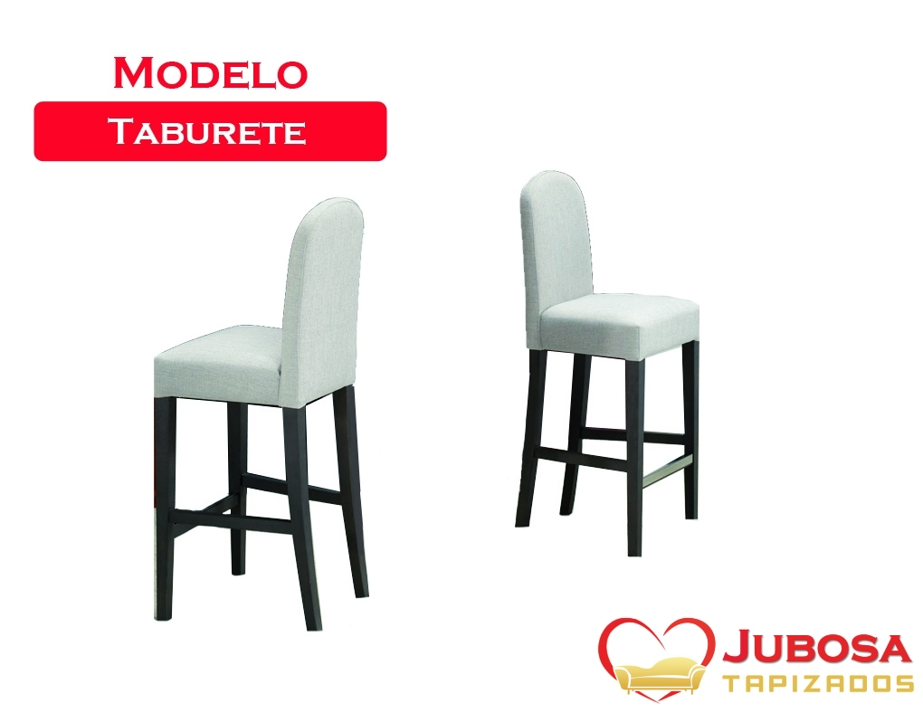 silla modelo tabure - tapizados jubosa