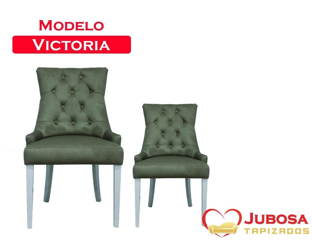 silla modelo victoria tapizados jubosa