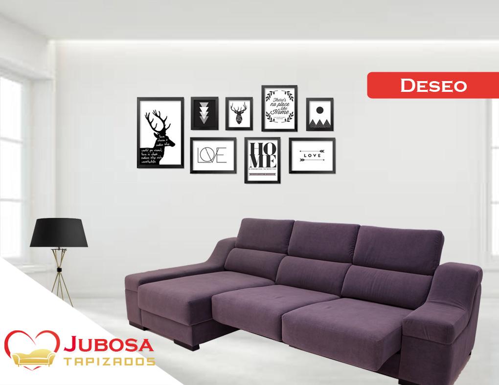 sofa con fondo deseo - tapizados jubosa