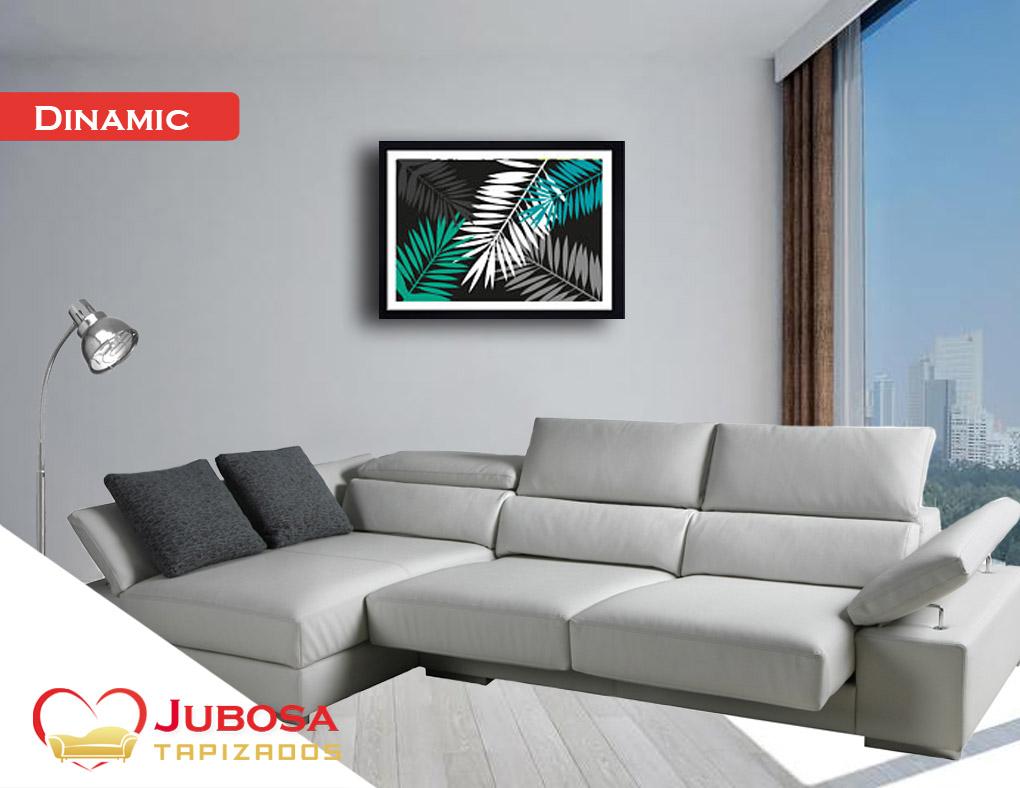 sofa con fondo dinamic - tapizados jubosa