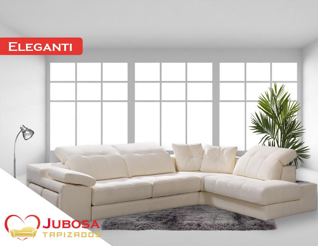 sofa con fondo elegantil - tapizados jubosa