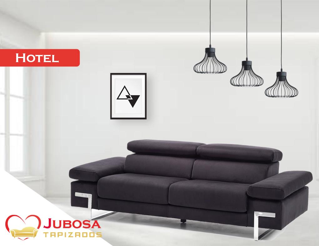 sofa con fondo hotel - tapizados jubosa