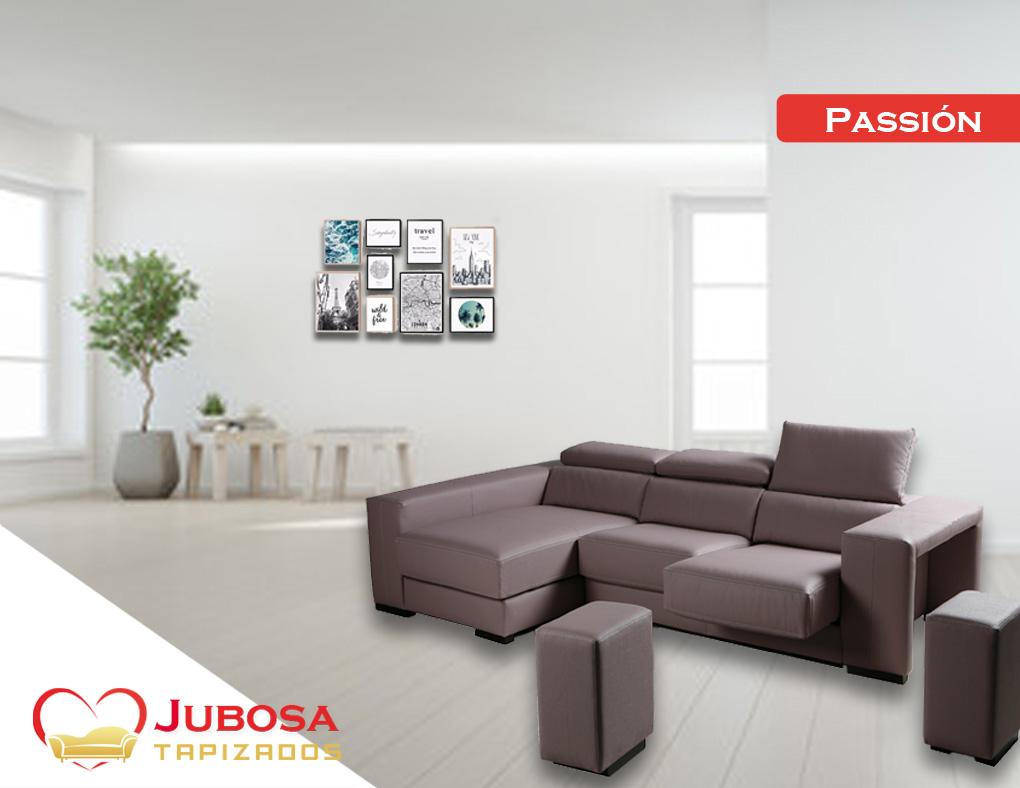 sofa con fondo passion - tapizados jubosa