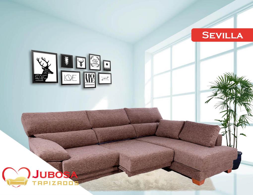 sofa con fondo sevilla tapizados jubosa
