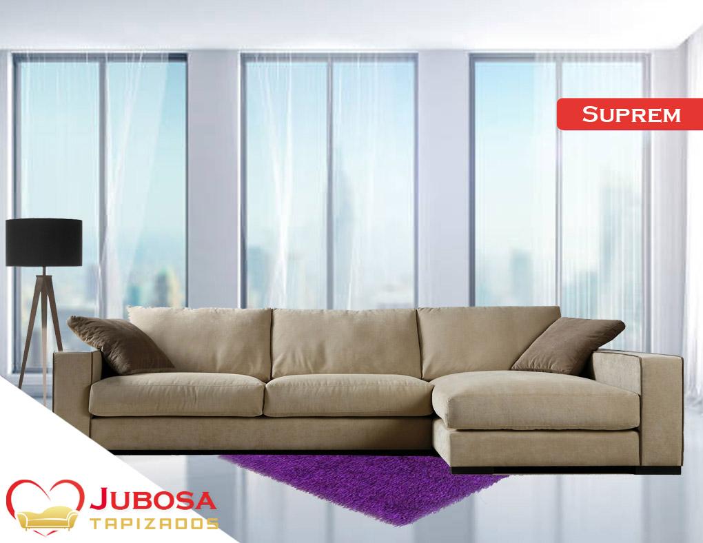 sofa con fondo suprem tapizados jubosa
