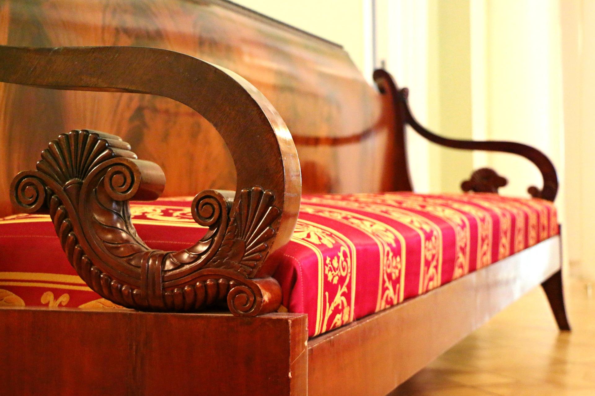 decorar con muebles tapizados
